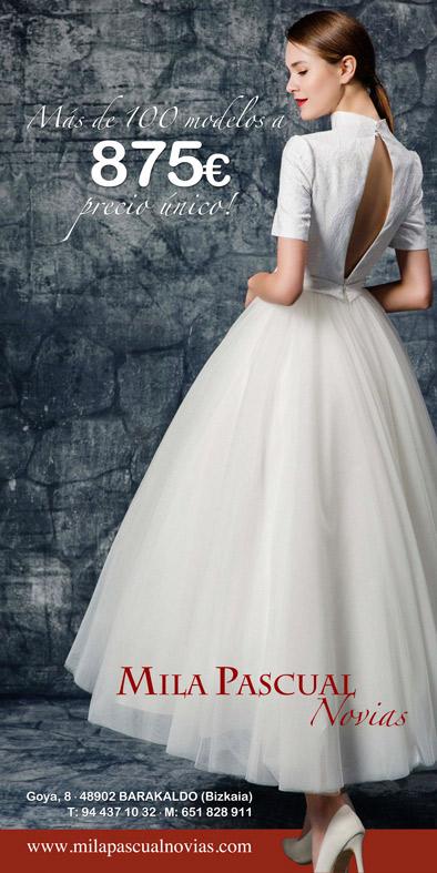 vestidos de novia bilbao tienda bodas bizkaia mila pascual